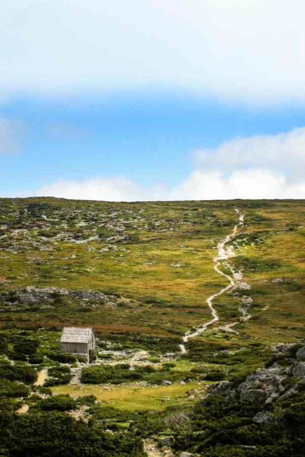 Hiking Cradle Mountain