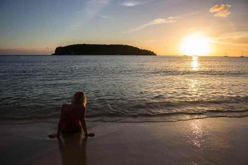 Sunset on the Beach, Vieques