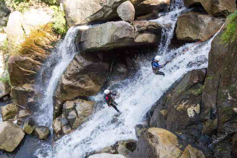 Canyoning in Medellin, Colombia