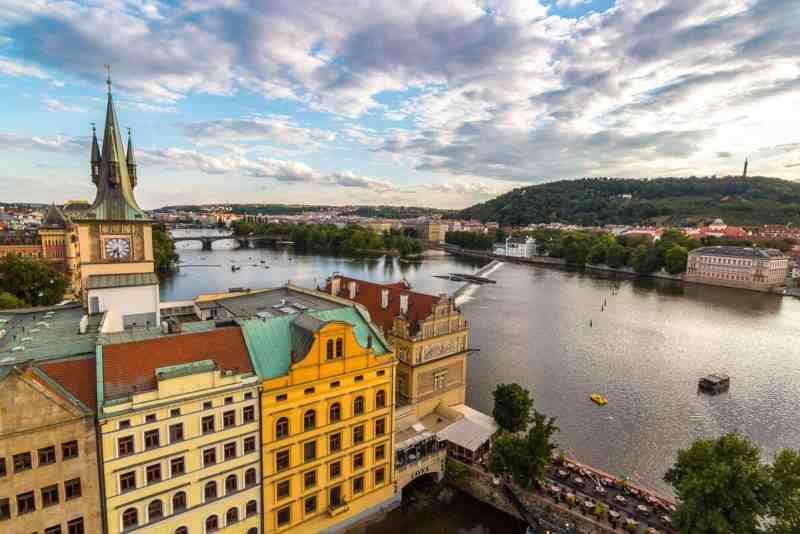 Photo of Prague, Czech Republic.