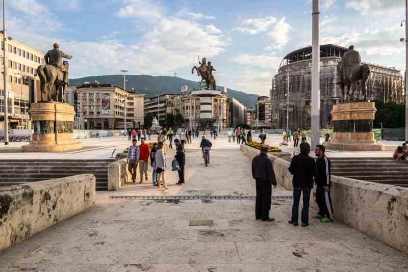 Photo of Skopje, Macedonia