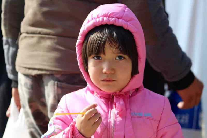 Photo of a Syrian Girl