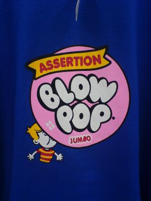 Engrish Tshirt  - Blow Pop