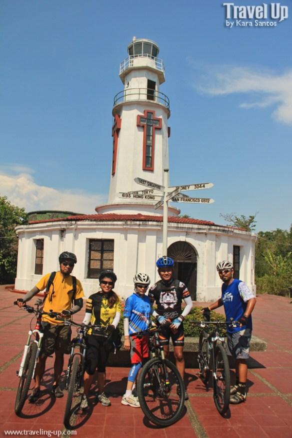 corregidor biking spanish lighthouse group pic