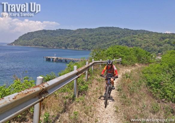 corregidor island philippines biking trail coastal view
