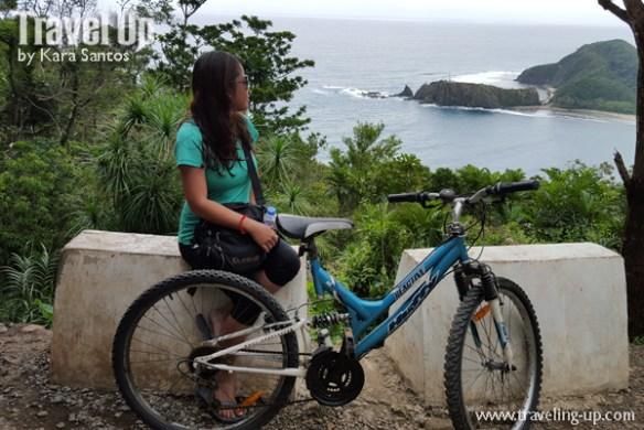 baler aurora bicycle dicasalarin cove from pag-asa station