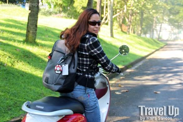 travel up targus bag motorcycle