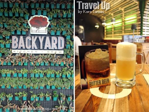 backyard kitchen + brew uptown center