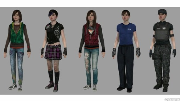 04. Beyond Two Souls Jodie's outfits