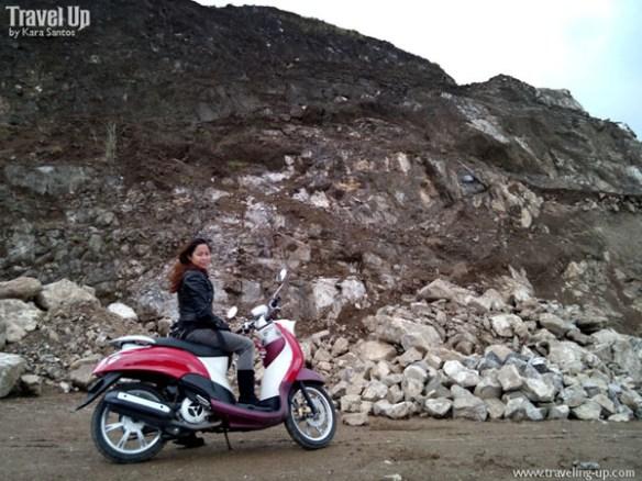 jariels peak infanta quezon rocks