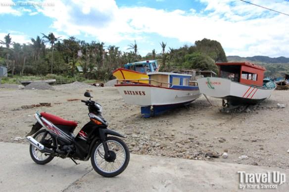 mahatao shelter port batanes boats motorcycle