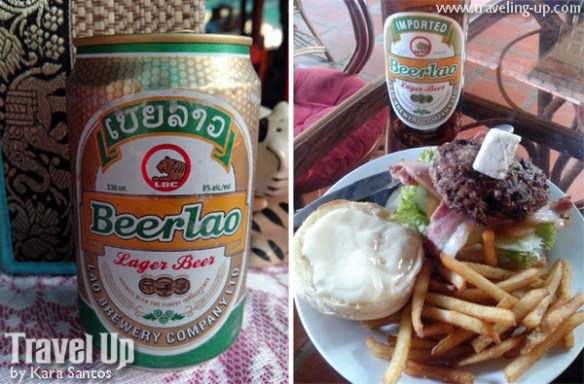 beerlao burger cambodia