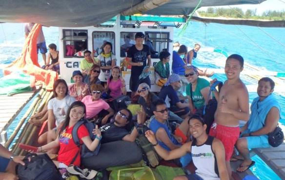 jomalig quezon boat group shot