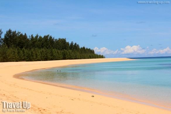 jomalig quezon cove beach swimming