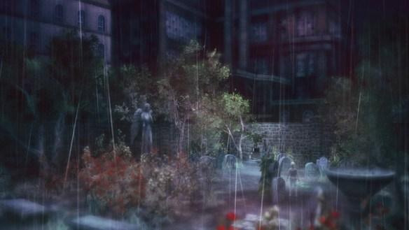 lost in the rain cemetery