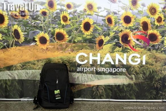 targus backpack in changi airport