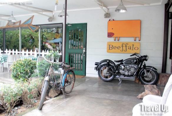 Beeffalo by HotRocks Marikina sign vintage bike and motorcycle