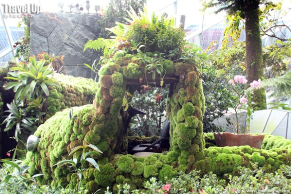 gardens by the bay cloud forest 06
