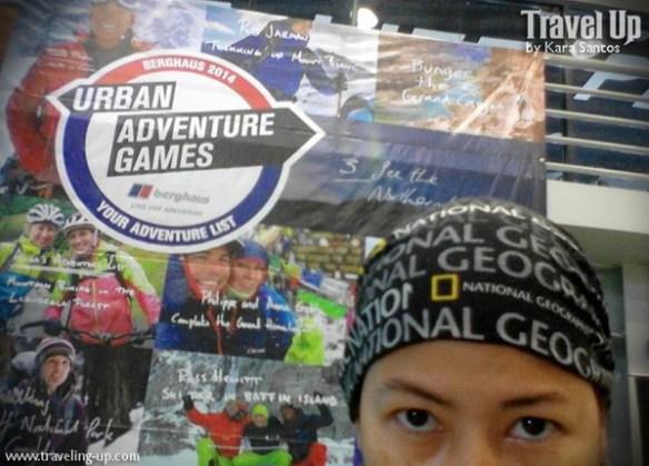 berghaus urban adventure games 2014 selfie
