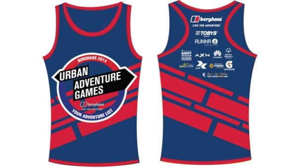 berghaus urban adventure games 2014 singlet