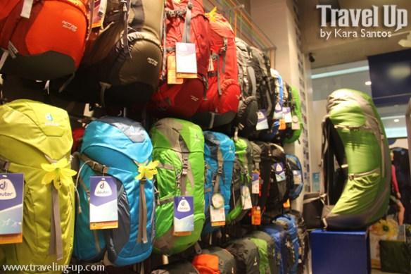 01. deuter backpacks concept store MOA