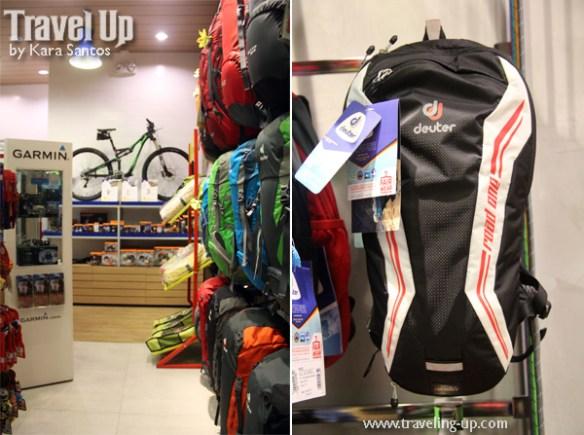 02. deuter backpacks concept store MOA