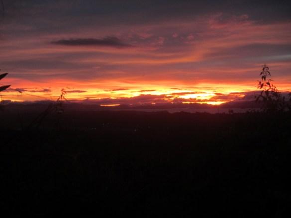 29. calbiga cave samar sunset