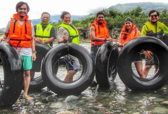 quirino province river tubing