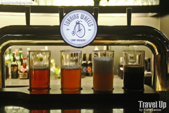 irie gastropubliko cebu city turning wheels craft brewery sampler