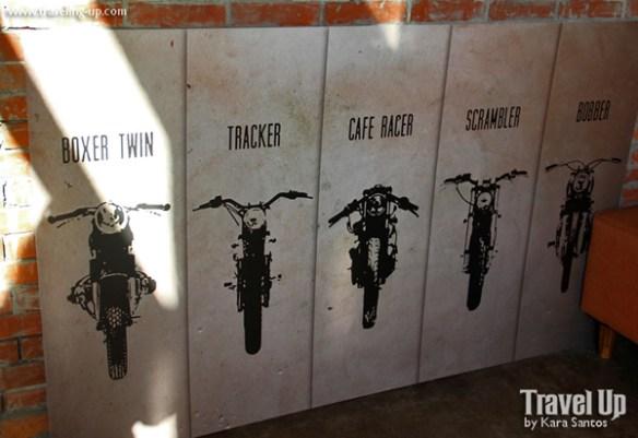 cafe racer cebu philippines motorcycle mural