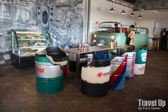 cafe racer cebu philippines oil drum chairs