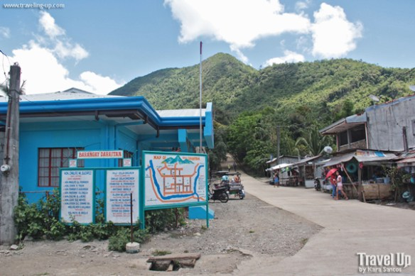 09. daraitan barangay center and mountain