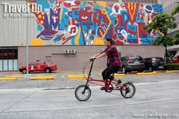 nyfti folding bike mural BGC 2