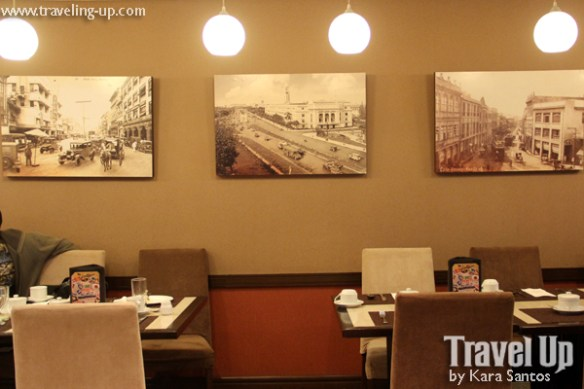 ramada manila central news cafe interiors