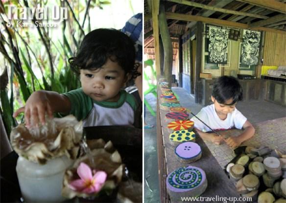 la huerta baao camarines sur arts & crafts