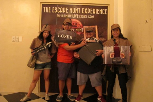 the escape hunt experience manila group shot