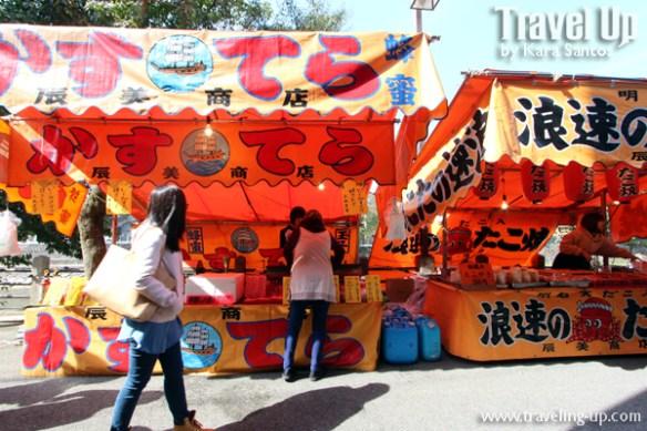 01. takayama japan morning market stalls