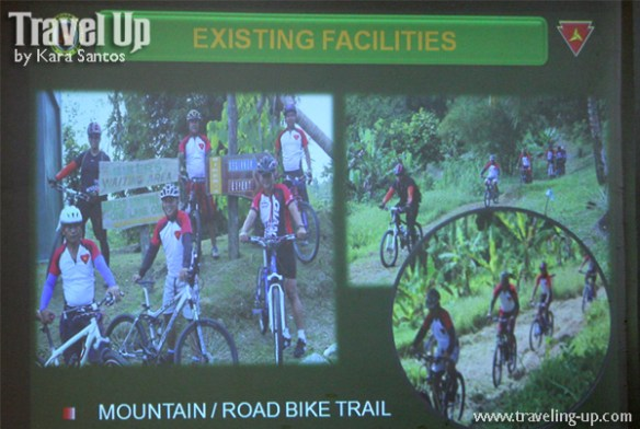 camp peralta jamindan capiz mountain biking trails photo