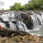 Malinamon Falls in Capiz