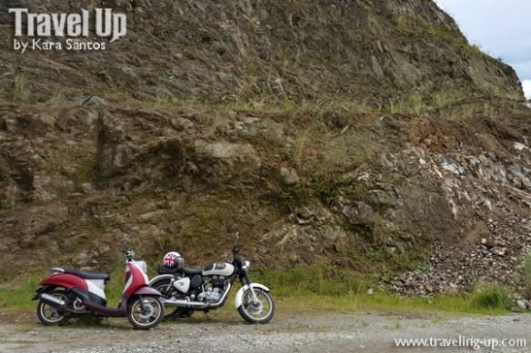 marifanta marikina-infanta highway motorcycles quarry site