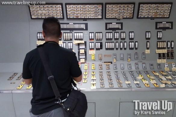 19b. bataan nuclear power plant control room panel