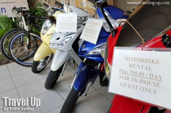 camiguin mountain bikes motorcycles rent