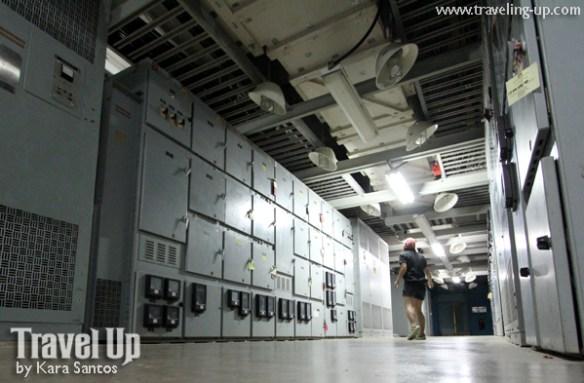 osprey bataan nuclear power plant hallway