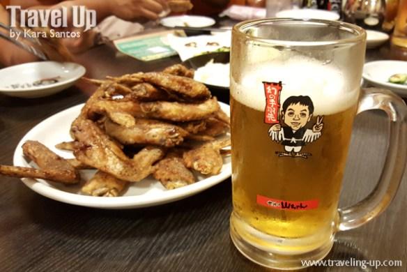 japan nagoya sekai no yamachan tebasaki draft beer
