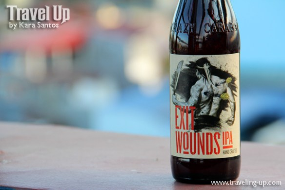crazy carabao brewing company exit wounds IPA