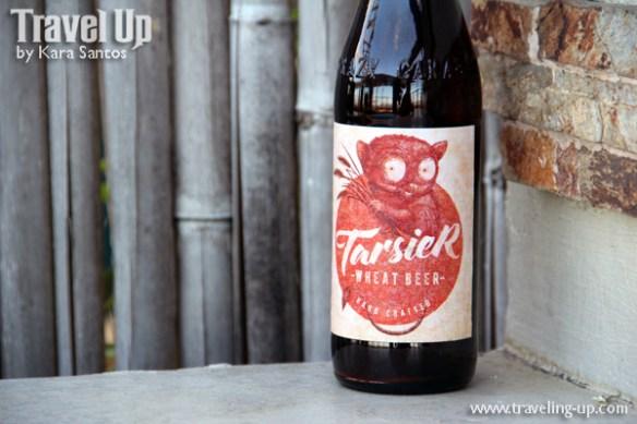 crazy carabao brewing tarsier wheat beer