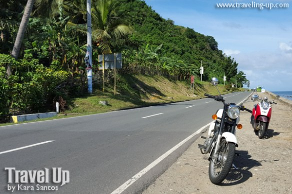 motorcycle manila to naga bicol coastal road