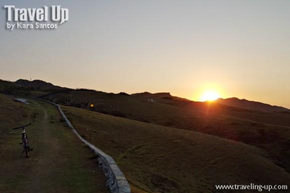 sabtang island batanes bike sunset hills from lighthouse