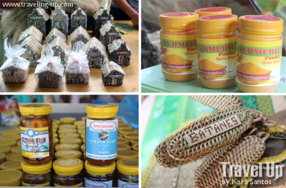 sabtang island batanes souvenirs flying fish turmeric keychain magnet