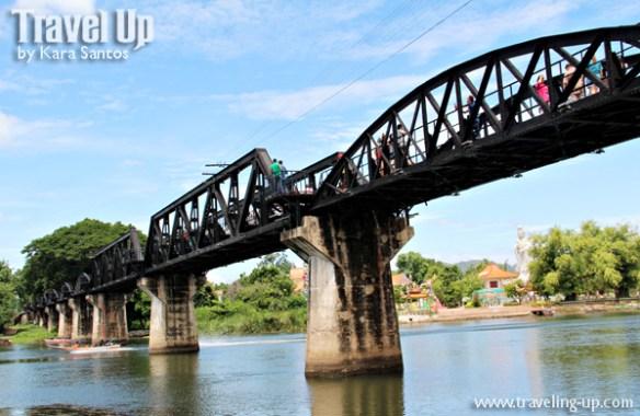 day 5 bridge over river kwai thailand